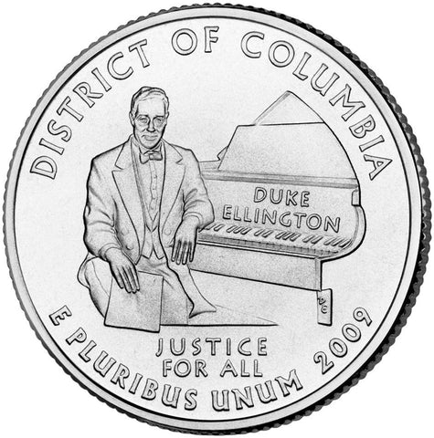 2009-D District of Columbia Quarter