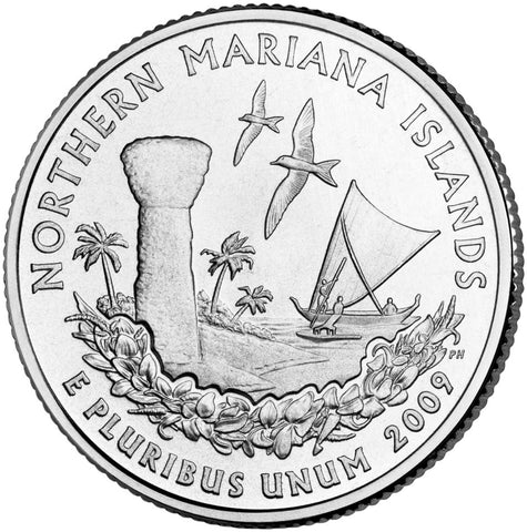2009 Northern Mariana Island Quarter