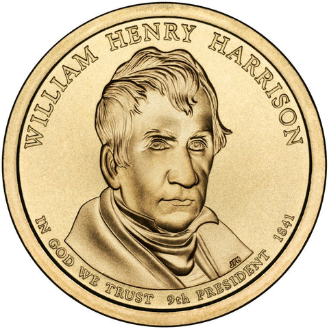 2009-P and D William Henry Harrison Presidential Dollars