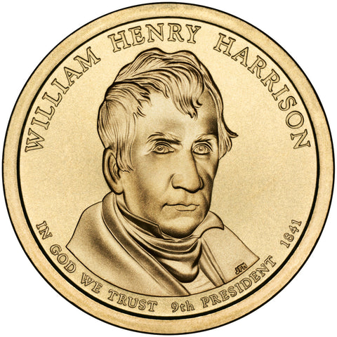 2009-D William Henry Harrison Presidential Dollar