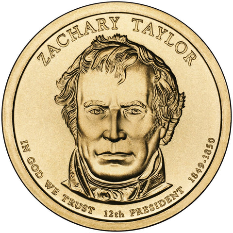 2009-P and D Zachary Taylor Presidential Dollars