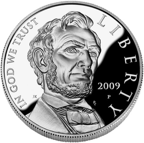 2009-P Abraham Lincoln Silver Dollar . . . . Gem Proof in capsule
