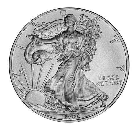 2009 Silver Eagle . . . . <br>Gem Brilliant Uncirculated