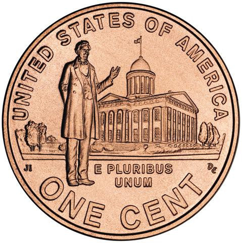 2009 P Lincoln Professional Penny Bicentennial Uncirculated Cent from Mint Roll