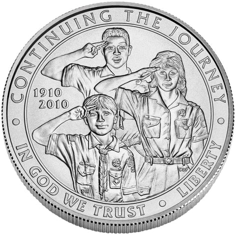 2010-P Boy Scouts of America Silver Dollar