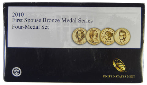 2010 first spouse bronze medal set