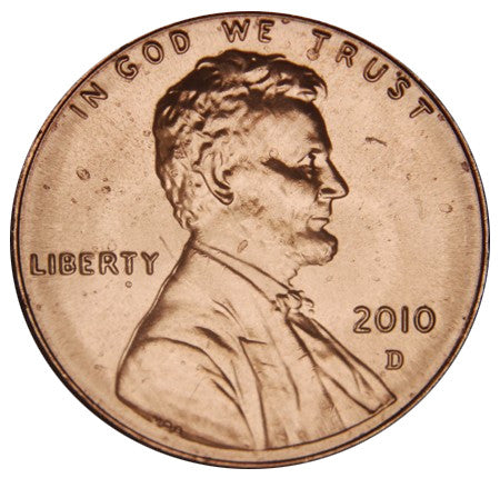 2010-D Lincoln Shield Cent
