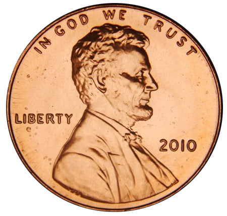 2010 Lincoln Shield Cent . . . . Brilliant Uncirculated