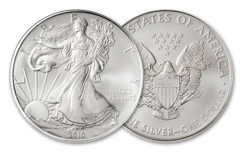 2010 Silver Eagle . . . . <br>Gem Brilliant Uncirculated