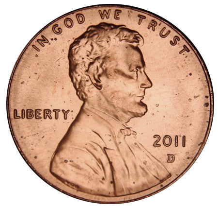 2011-D Lincoln Shield Cent