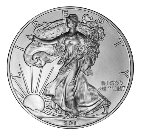 2011 Silver Eagle . . . . <br>Gem Brilliant Uncirculated