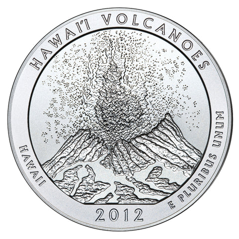 2012 Hawaii Volcanoes National Park, HI<br>in Original U.S. Mint Box with COA