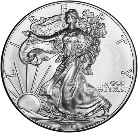 2012 Silver Eagle . . . . <br>Gem Brilliant Uncirculated