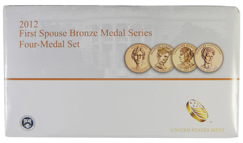 2012 first spouse bronze medal set