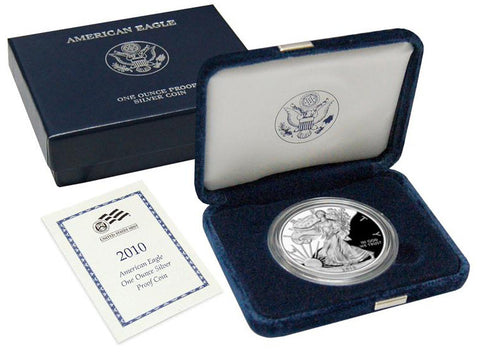 2010-W Silver Eagle . . . . <br>Superb Brilliant Proof