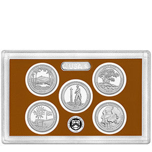 2013-S America the Beautiful Quarter 5-coin Proof Set