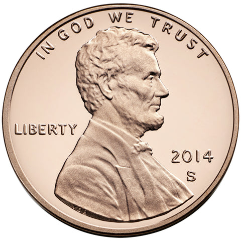 2014-S Lincoln Shield Cent
