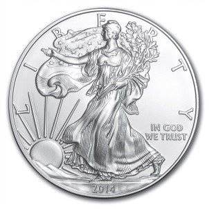 2014 Silver Eagle . . . . <br>Gem Brilliant Uncirculated