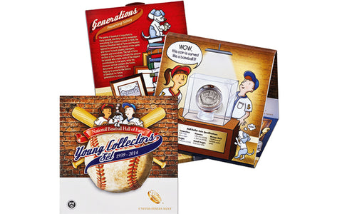 2014 National Baseball Hall of Fame Young Collectors Set