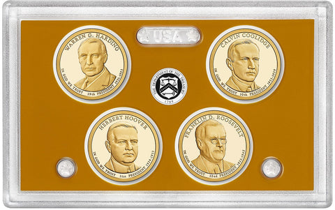 2014-S Presidential Dollar Proof Sets