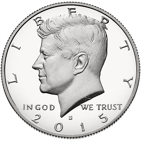 2015-S Kennedy Half . . . . Gem Brilliant Proof