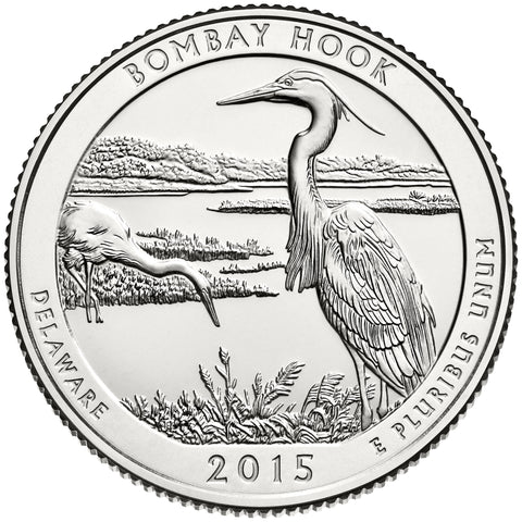 2015 Bombay Hook National Wildlife Refuge, DE Quarter