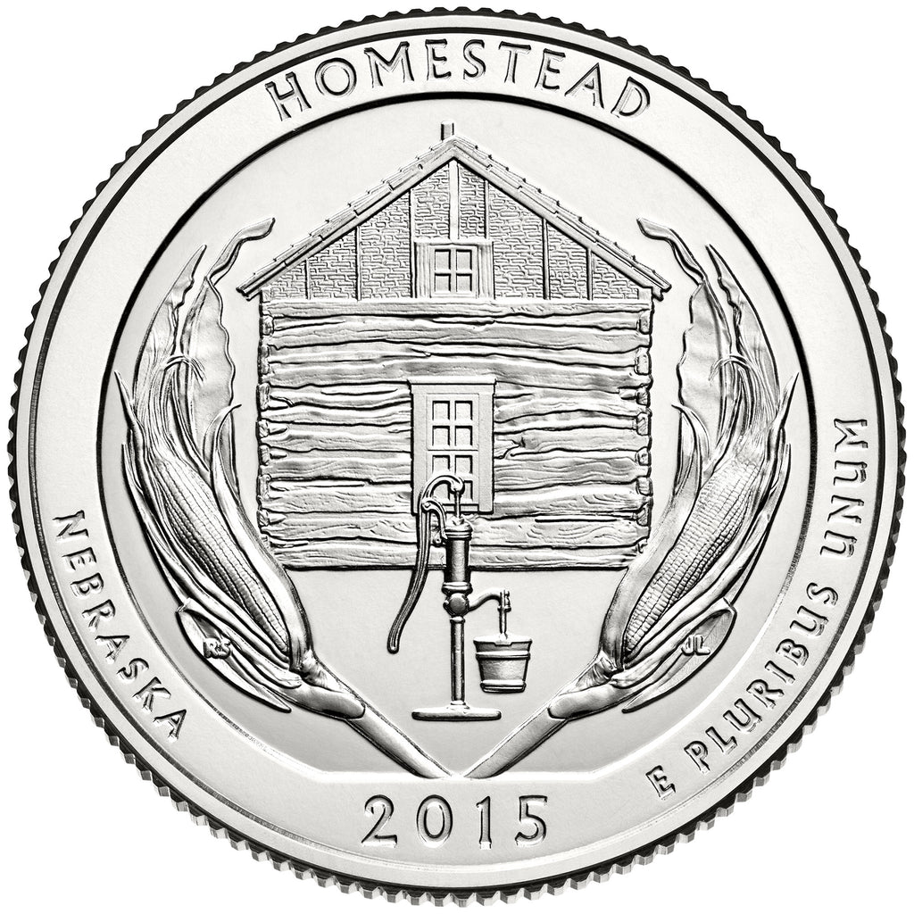 2015 uncirculated national park quarters