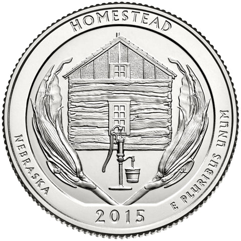 2015 Homestead National Monument, NE Quarter