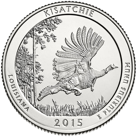 2015 Kisatchie National Forest, LA Quarter