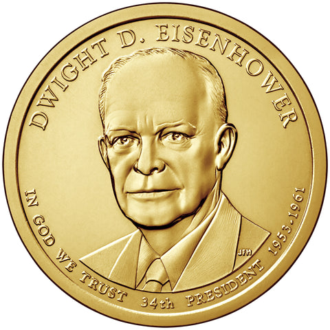 2015 Eisenhower Presidential Dollar