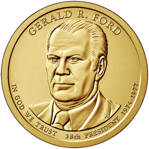 2016 Ford Presidential Dollar