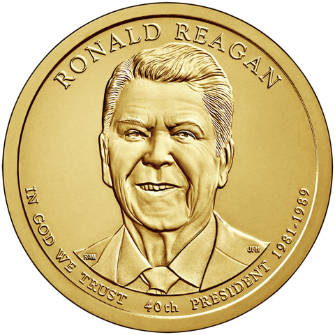 2016 Reagan Presidential Dollar