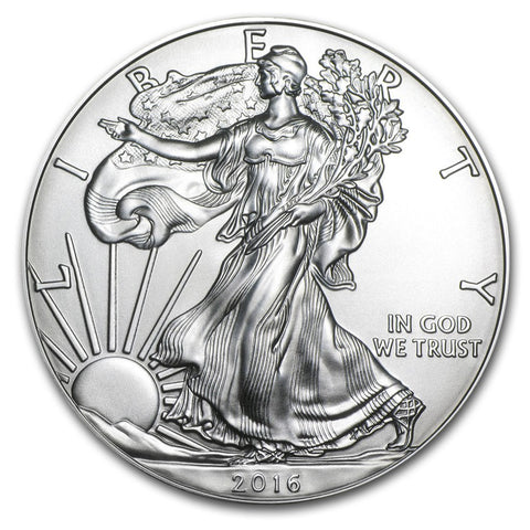 2016 Silver Eagle . . . . <br>Gem Brilliant Uncirculated