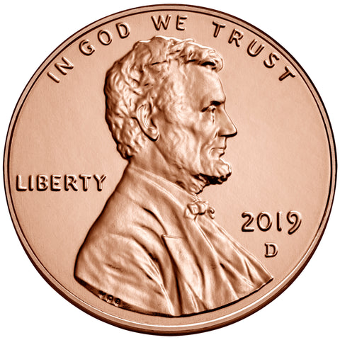2019-D Lincoln Shield Cent