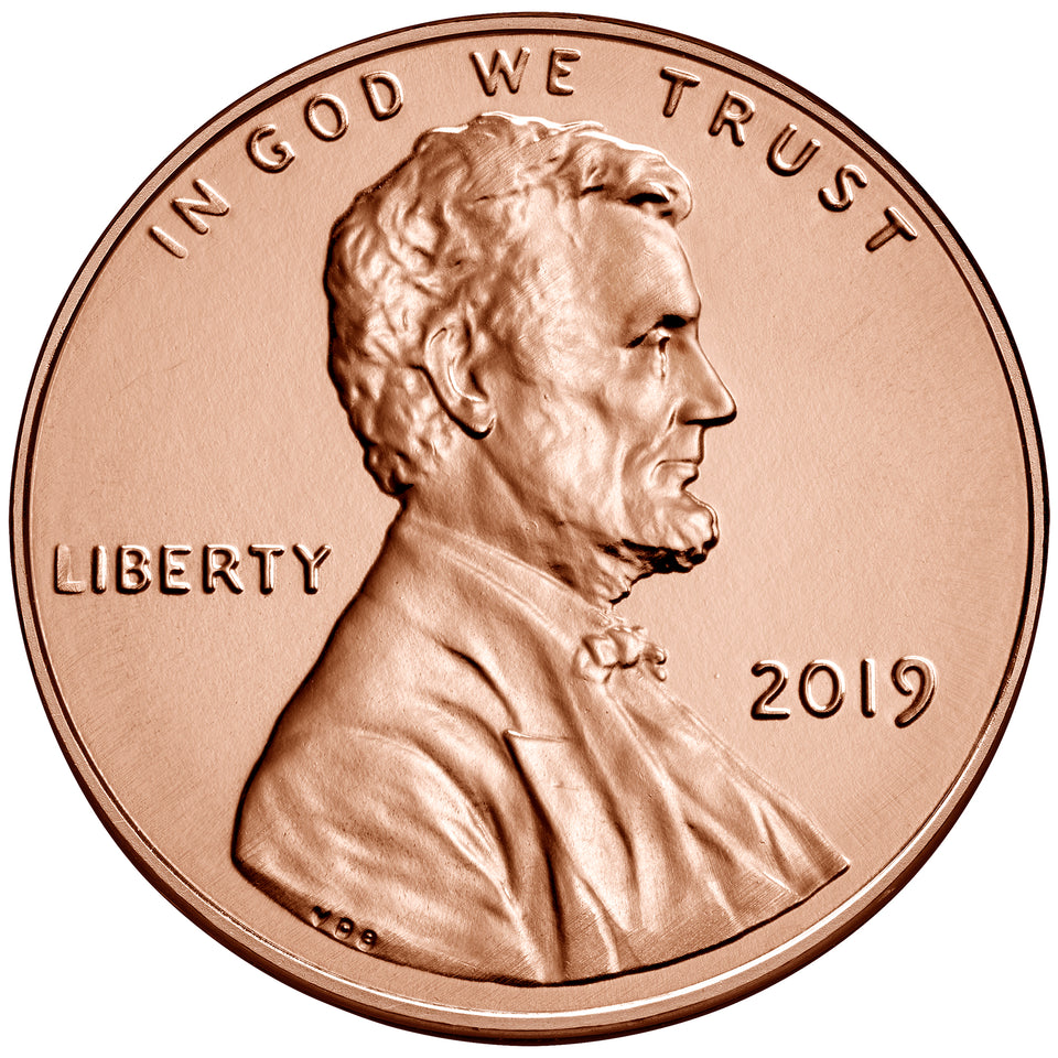 U.S 2010 D Lincoln Shield Penny Uncirculated One Cent Coin
