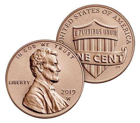 2019-W Lincoln Shield Cents