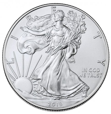 2019 Silver Eagle . . . . <br>Gem Brilliant Uncirculated