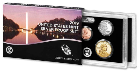 2019-S 10-coin Silver Proof Set