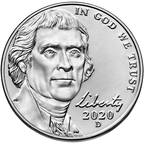 2020-D Jefferson Nickel