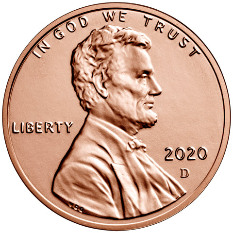 2020-D Lincoln Shield Cent