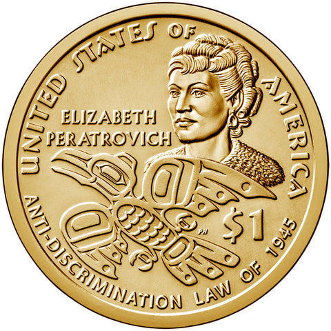 2020-D Native American Dollar Alaska Anti-Discrimination Law