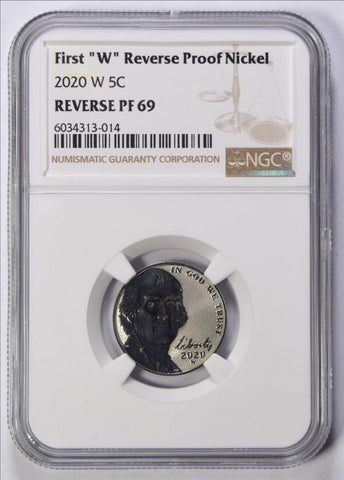 2020-W Jefferson Nickel <br>NGC Reverse Proof-69