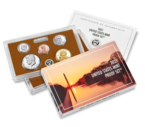 2021-S 7-coin Proof Set . . . . Superb Brilliant Proof