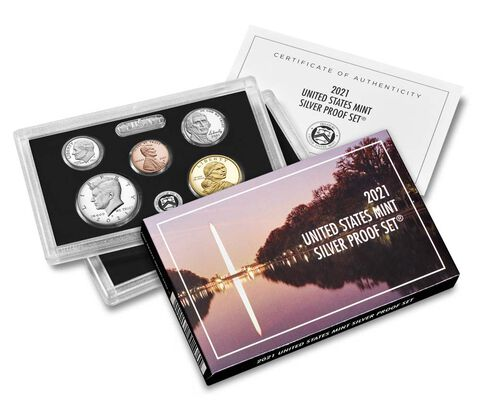 2021-S 7-coin Silver Proof Set . . . . Superb Brilliant Proof