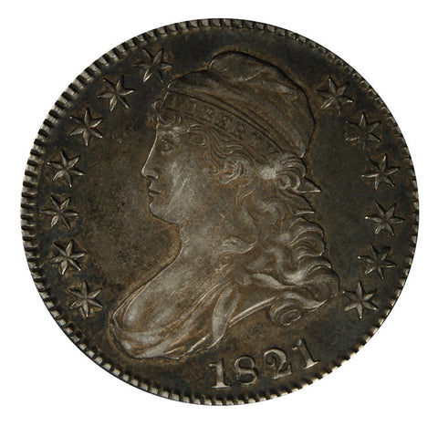 1821 Bust Half . . . . <br>Choice About Uncirculated