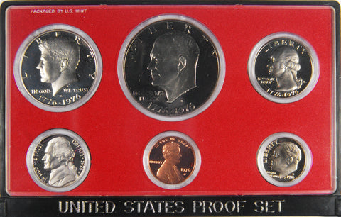 1976-S 6-piece Proof Set