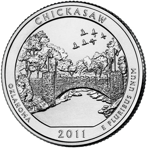 2011 Chickasaw National Recreation Area, OK Quarter