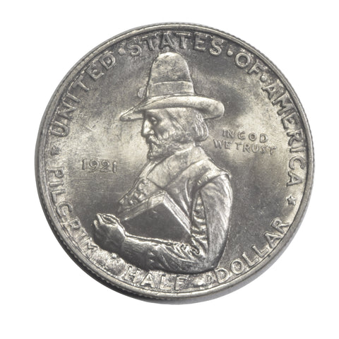 Pilgrim Half 1921 <br>Gem Brilliant Uncirculated