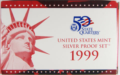 1999-S Silver Proof Set