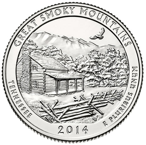 2014 Great Smoky Mountains National Park, TN Quarter